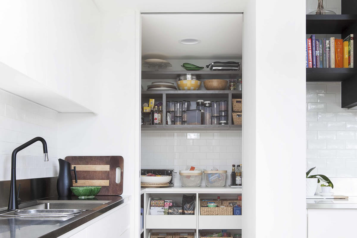 Four Factors to Consider When Designing a Walk In Pantry